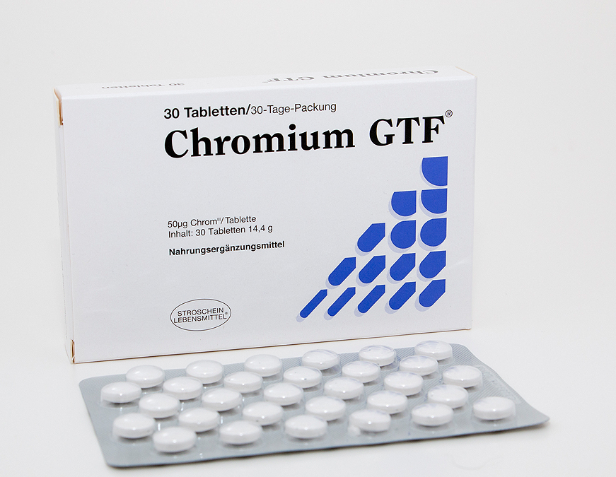 Chromium GTF Tabletten 30 Tage-Packung